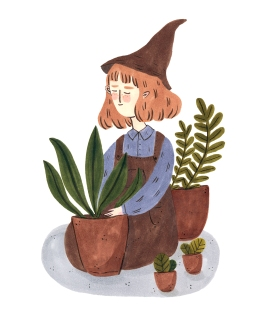 Plant Witch Postcards jpeg
